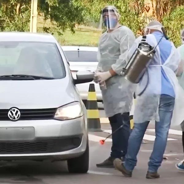 Menor cidade de SP, Borá instala barreira sanitária após registro do primeiro caso de Covid-19