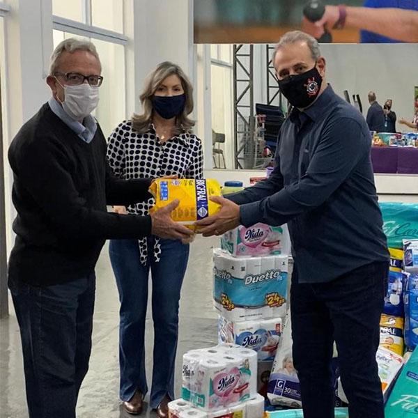 AMU realiza entrega de itens de higiene pessoal para Asilo São Vicente de Paulo