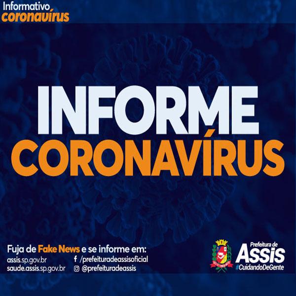 Assis tem pelo menos 71 casos positivos de Covid-19