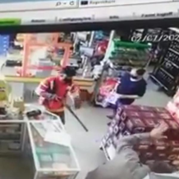Ladrões usam espingarda para roubar mercado em Marília