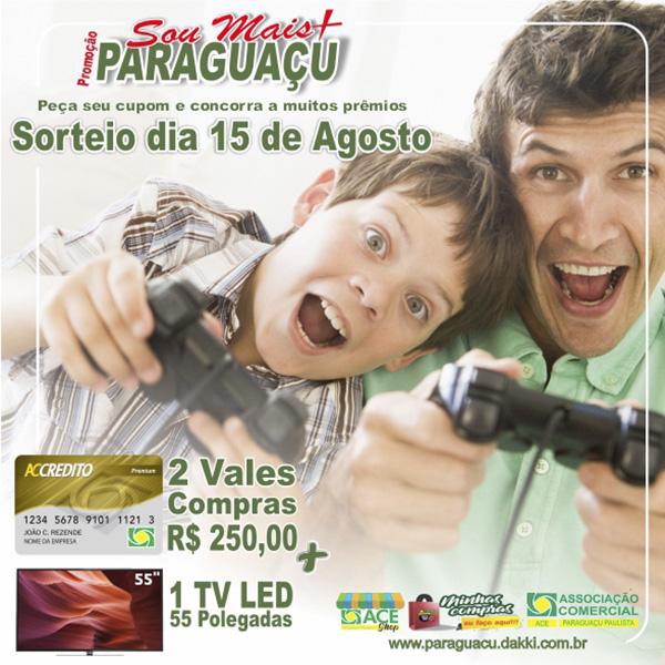Comércio terá horário especial de atendimento para o Dia dos Pais em Paraguaçu