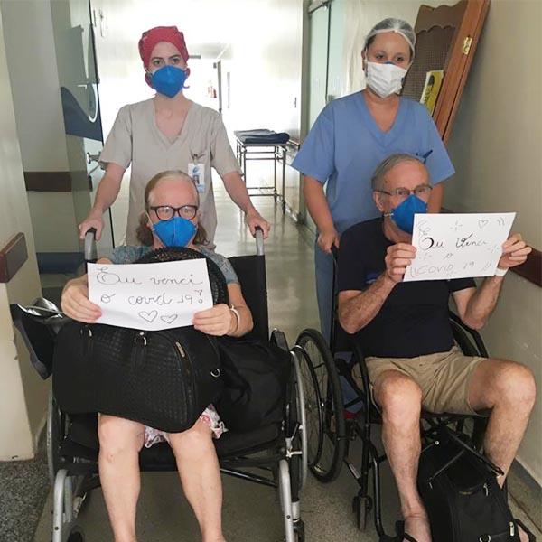 Irmãos vencem a Covid-19 após morte do pai pela doença em Paraguaçu Paulista