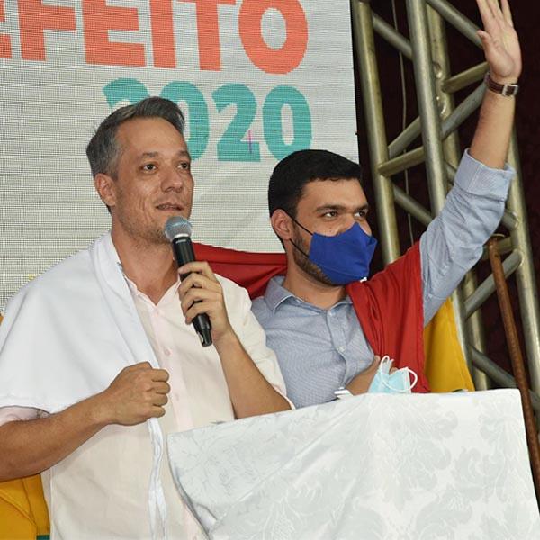 Em convenção conjunta, Avante oficializa a pré-candidatura de Ian Salomão à prefeitura de Paraguaçu