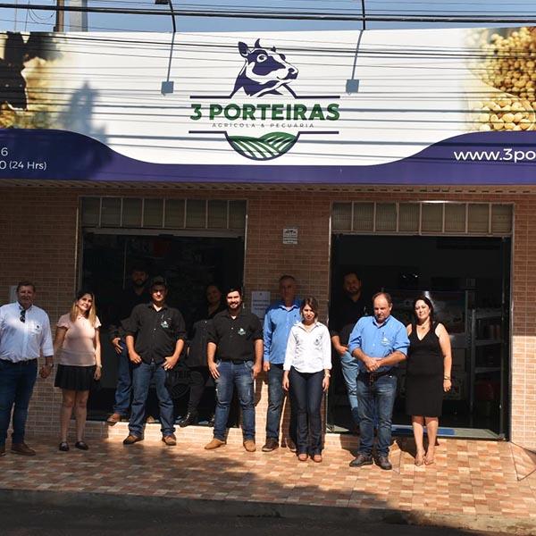 Loja agrícola e pecuária 3 Porteiras é inaugurada em Paraguaçu Paulista