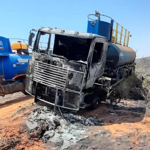 Incêndio atinge área de canavial em Quatá