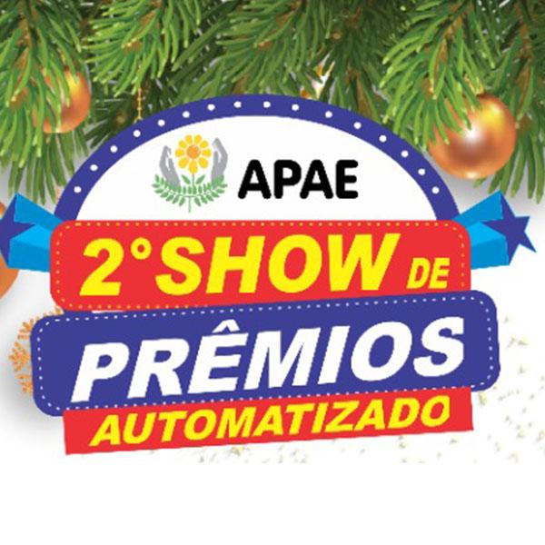 Apae realiza 2º Show de Prêmios Automatizado