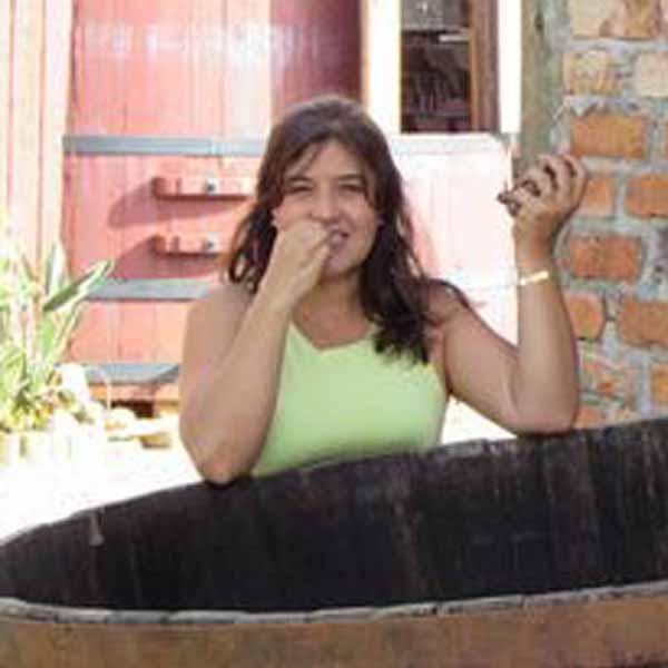 Rosana Fonseca recebe os parabéns pelo seu aniversário