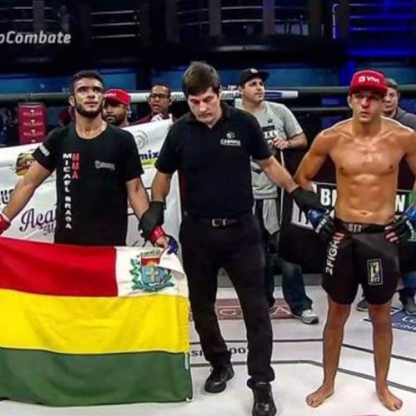Prefeitura busca incentivos para lutador paraguaçuense