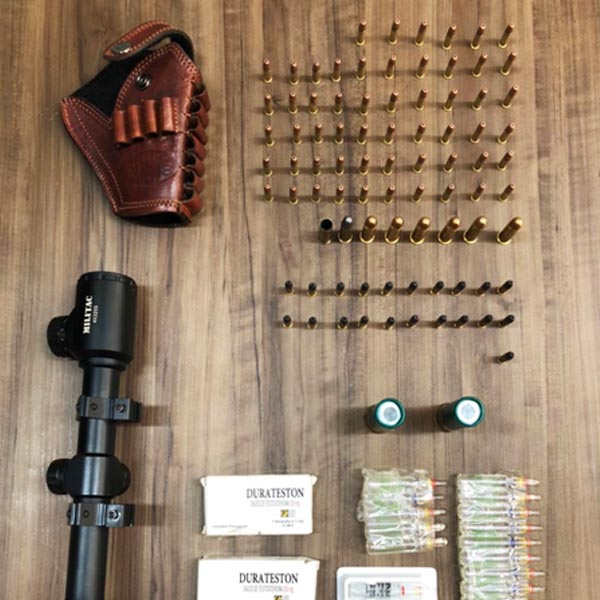 Homem é preso com dezenas de munições e anabolizantes em Paraguaçu Paulista