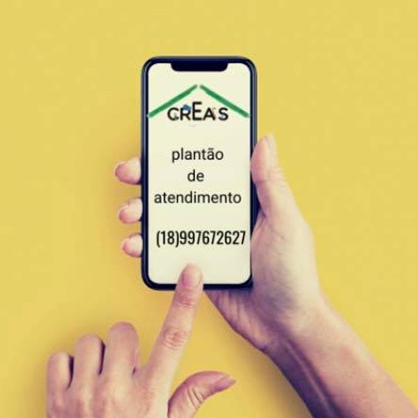 Creas de Paraguaçu disponibiliza telefone para orientações e emergências