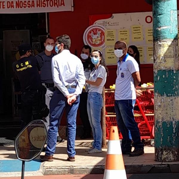 Operação fiscaliza estabelecimentos no combate à Covid-19 em Paraguaçu Paulista