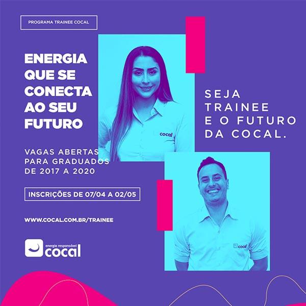 Cocal lança edição do Programa Trainee 2021