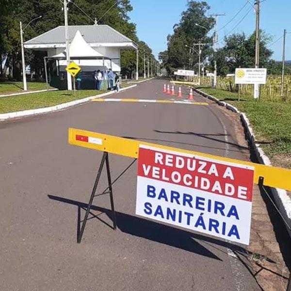 Rancharia dá início a fiscalizações em barreiras sanitárias para conter disseminação da Covid-19