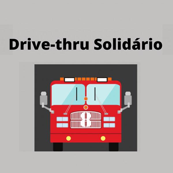 Drive-thru no Corpo de Bombeiros vai arrecadar alimentos nesta terça-feira (15)