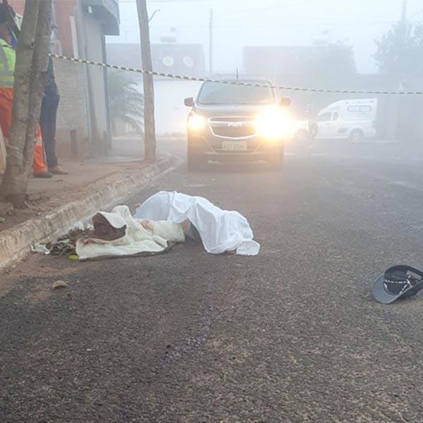Homem é morto a facadas durante briga em Echaporã; suspeito foi preso