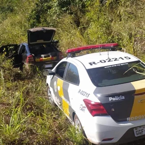 Casal tenta escapar de abordagem policial, mas acaba preso com quase 300 kg de maconha em Rancharia