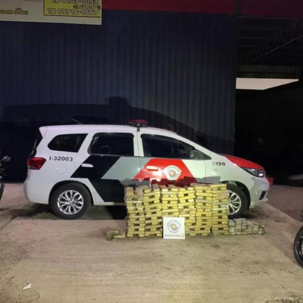 Polícias Militar e Rodoviária apreendem mais de 270 kg de maconha em rodovias de Assis e Ibirarema