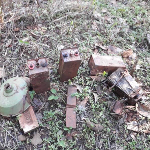 Associação constata dano ambiental em trecho de estrada de ferro em Paraguaçu