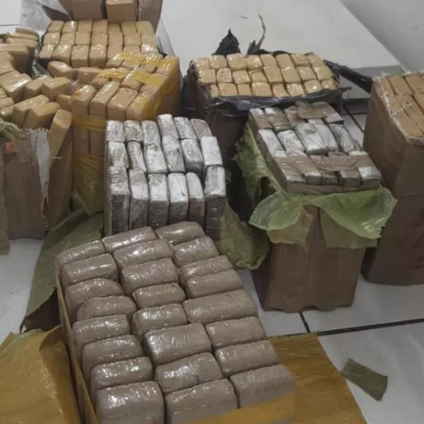 Idoso de 70 anos é preso com mais de 160 quilos de maconha em hotel de Marília