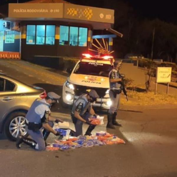 Polícia apreende 28 kg de pasta base de cocaína em tanque de combustível de carro em Maracaí