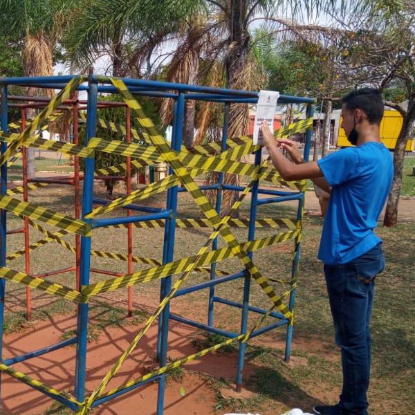 Prefeitura substituirá equipamentos na Praça do Panambi