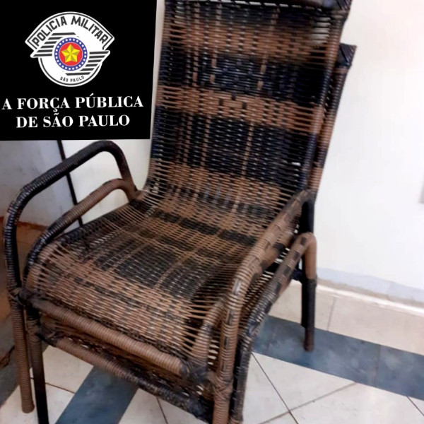 PM prende homem que furtou cadeiras no centro de Paraguaçu