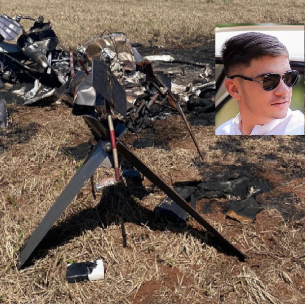 Helicóptero carregado de cocaína explode e mata dois carbonizados em MS. Piloto era de João Ramalho