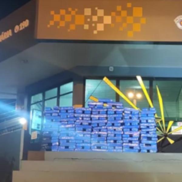 Homem é preso com 170 quilos de maconha escondidos em carro na SP-333 em Assis