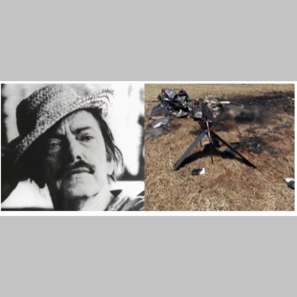 """Família Mazzaropi vendeu há 86 dias helicóptero que caiu na fronteira """"recheado"""" de cocaína e matou"""