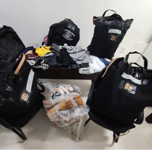 Operação Trapos de Luxo desarticula grupo criminoso que furtava roupas e causou mais de R$ 1 milhão